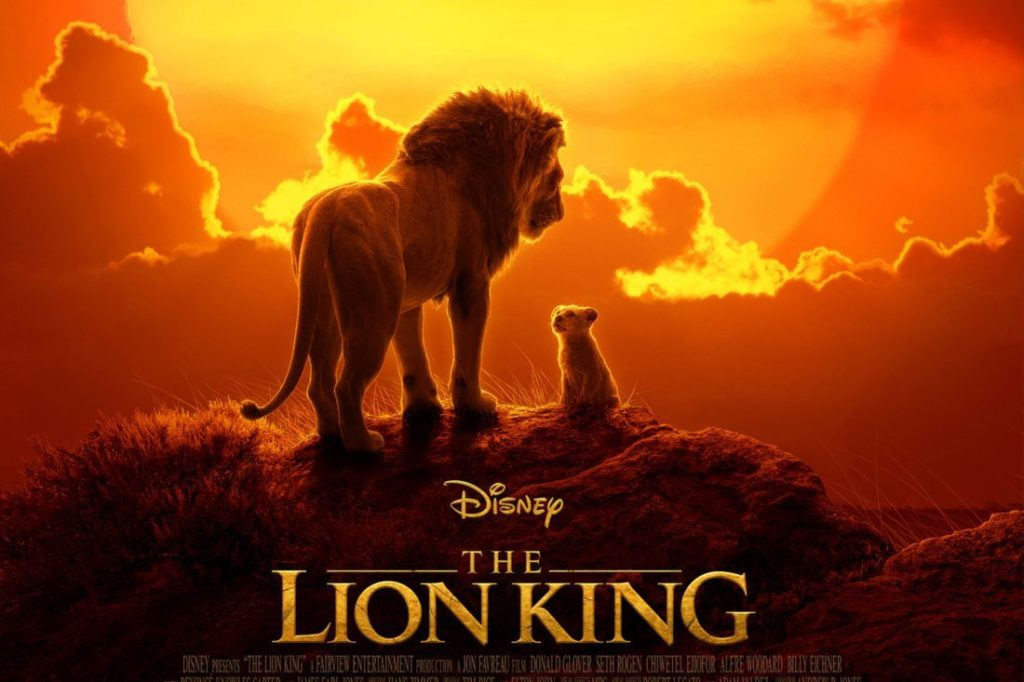 upcoming films - The Lion King