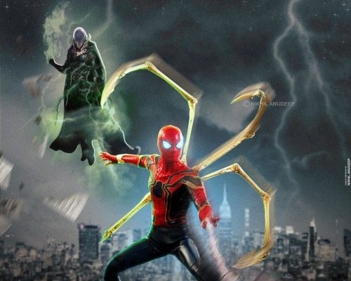 Now showing - Spider Man Far From Home